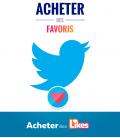 Acheter des favoris pour votre tweet